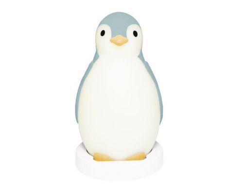 Zazu Беспроводная колонка+будильник+ночник пингвинёнок Пэм