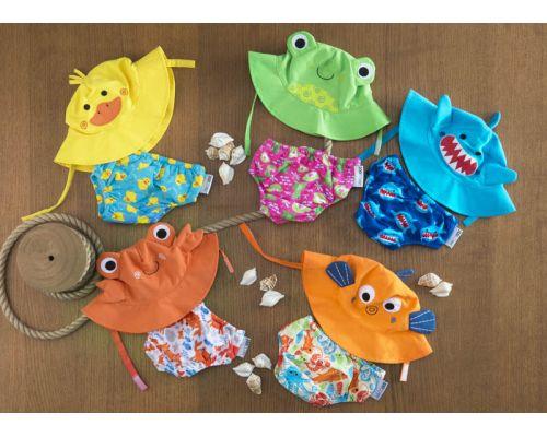 Zoocchini Подгузник для плавания и солнцезащитная панамка в наборе