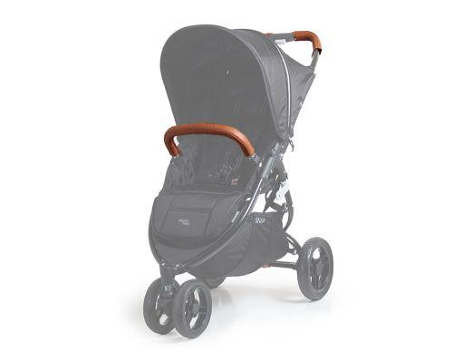 Valco Baby Cover Set кожаные накладки на бампер и ручку колясок Snap 3 и 4, Snap Ultra