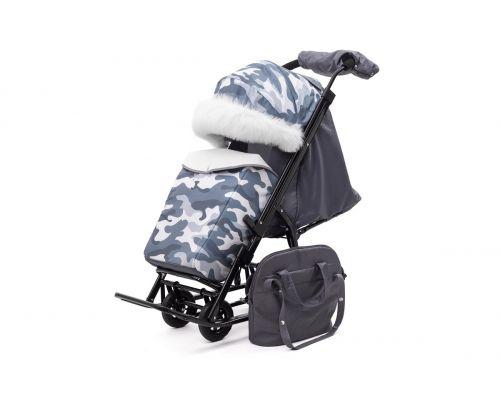 Санки-коляски Pikate Compact Military